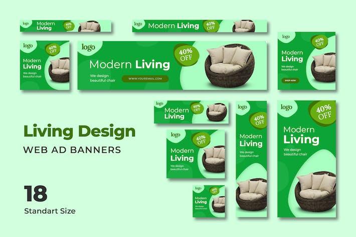 Thumbnail for Modern Living Web Banner