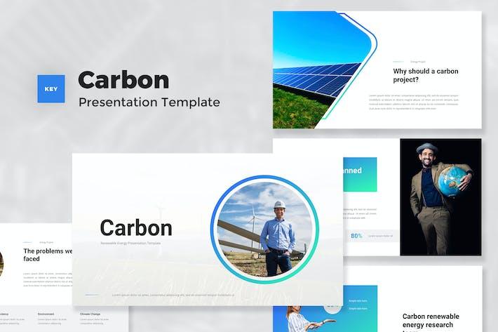 Thumbnail for Creative Возобновляемые источники энергии Keynote шаблон