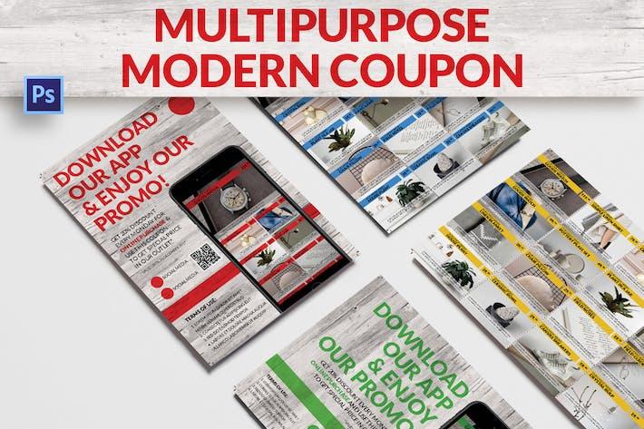 Thumbnail for Multipurpose Modern Coupon