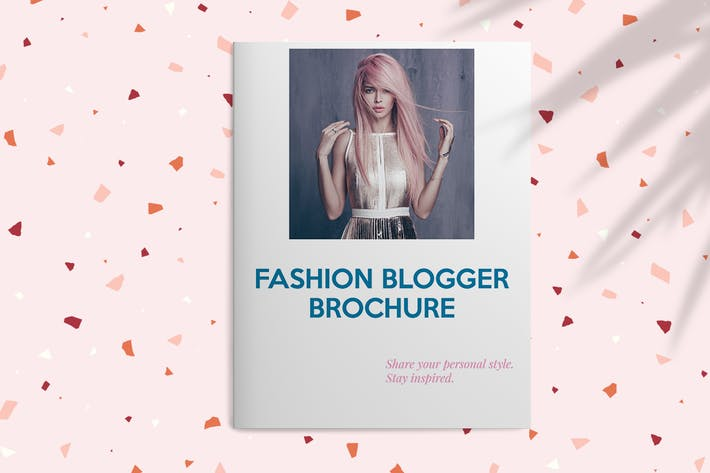 Thumbnail for Брошюра о моде Блоггер