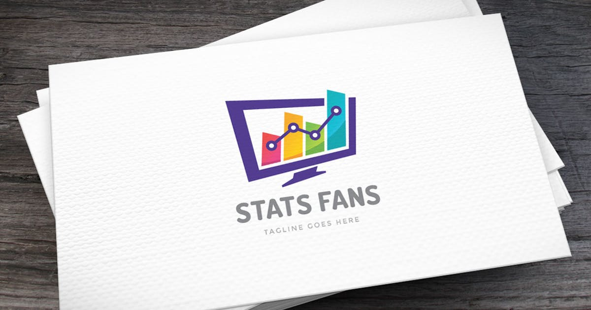 Download Stats Fans Logo Template by empativo