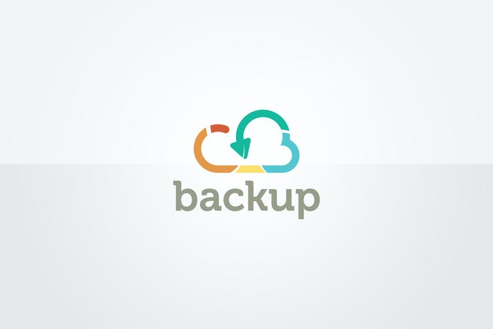 Cloud Backup Logo Template