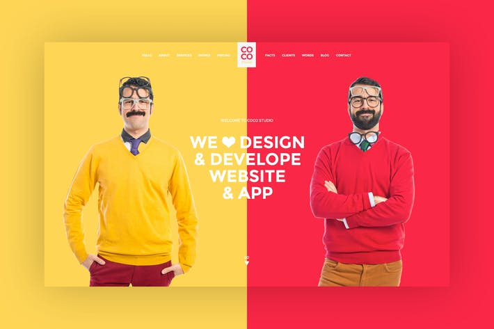Thumbnail for Creative Freelancer PSD Template