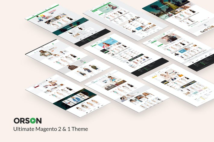 Thumbnail for Orson - Ultimate Magento 2 & 1 Theme