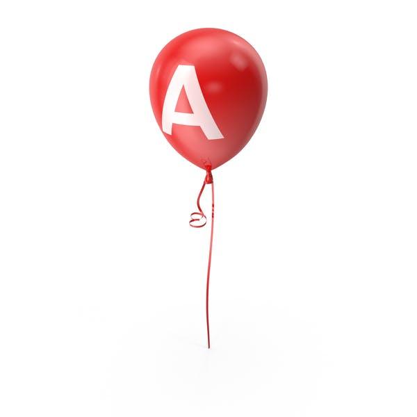 Letter A Balloon