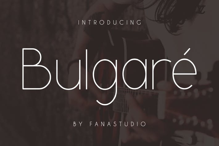 Thumbnail for Bulgare - Sans Con serifa