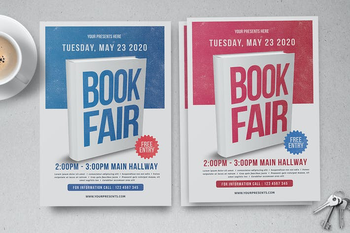 Thumbnail for Book Fair Flyer