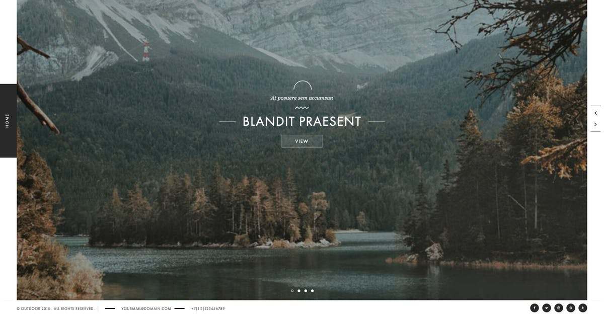 Download Outdoor - Creative Photography / Portfolio Theme by cththemes