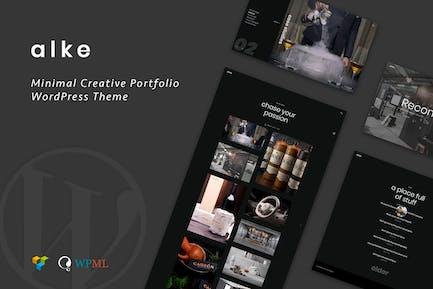 Alke   Minimal Creative Portfolio WordPress Theme