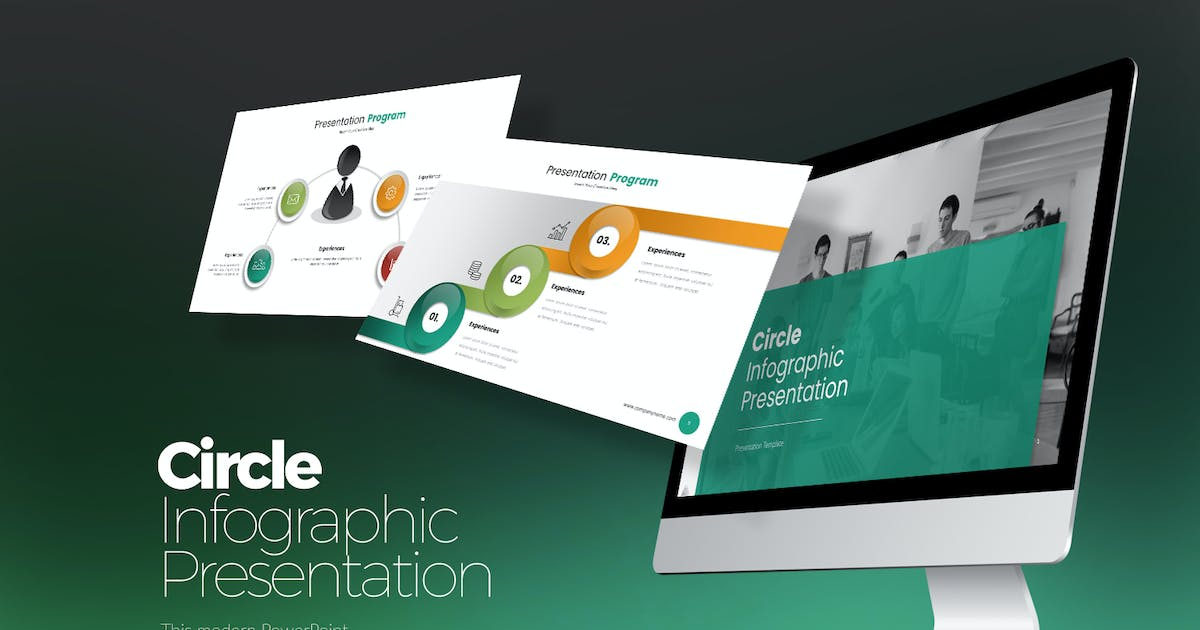 Download Circle Infographic PPTX by StockShape