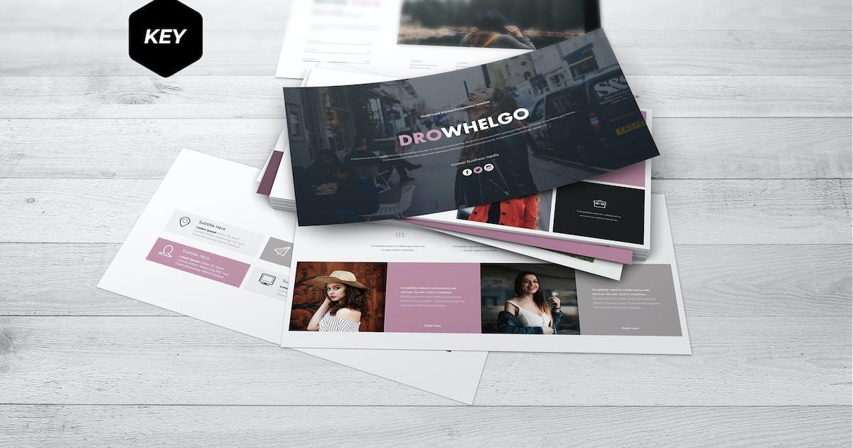 Download Drowhelgo - Keynote Template by aqrstudio