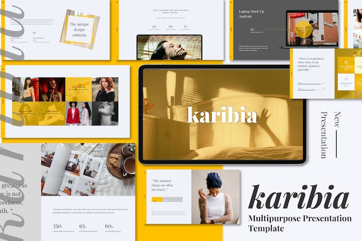 Thumbnail for Karibia Minimal Keynote Presentation
