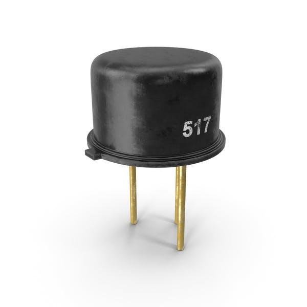 Vintage PNP-Silizium-Planartransistor