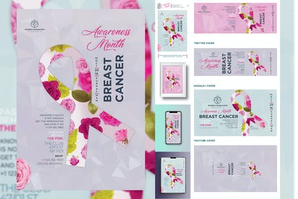 Breast Cancer Flyer and Poster