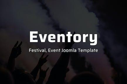 Eventory - Festival & Event Joomla Template
