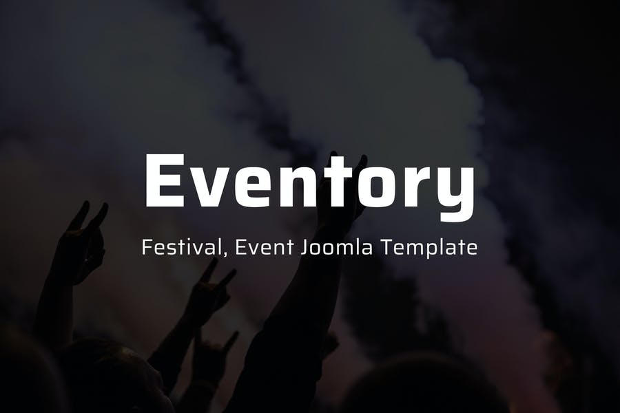 Eventory - Festival & Event Joomla Template - product preview 0