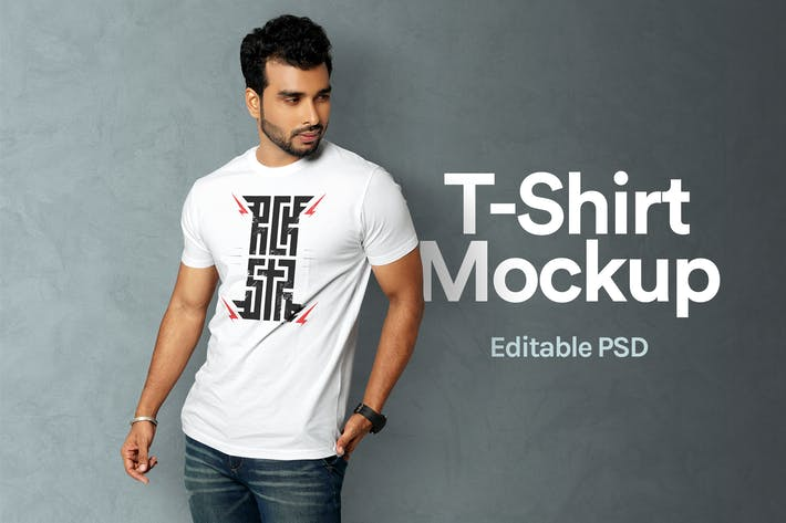 Thumbnail for T-Shirt Mockup 06