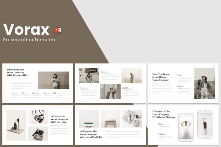 Thumbnail for Vorax - Powerpoint Template
