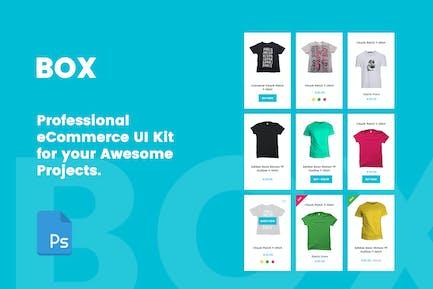BOX - Professional eCommerce UI Kit