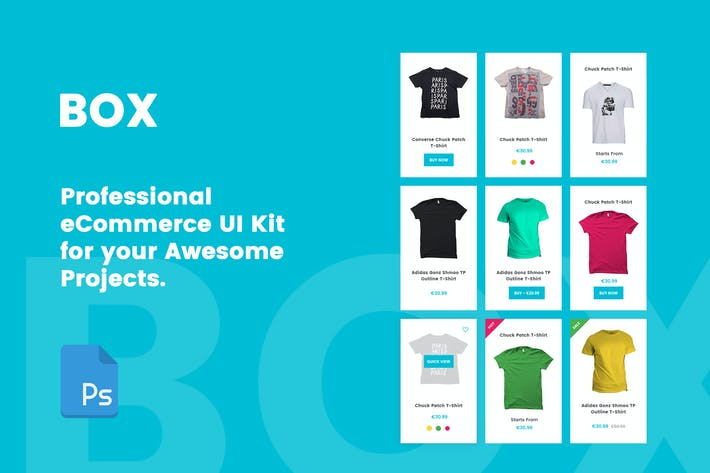 Thumbnail for BOX - Professional eCommerce UI Kit