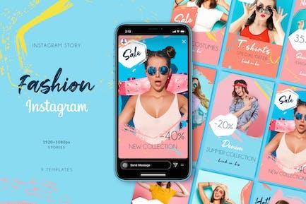 Histoires Instagram de mode