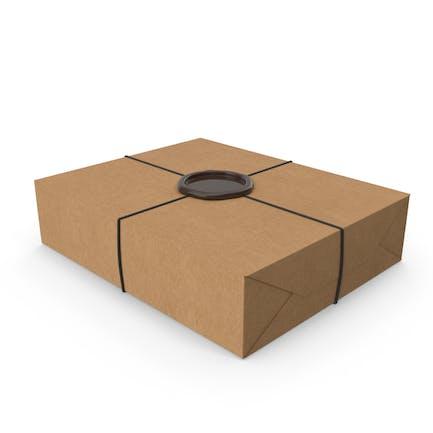 Basteln Sie Geschenkverpackungen mit einem Wachssi