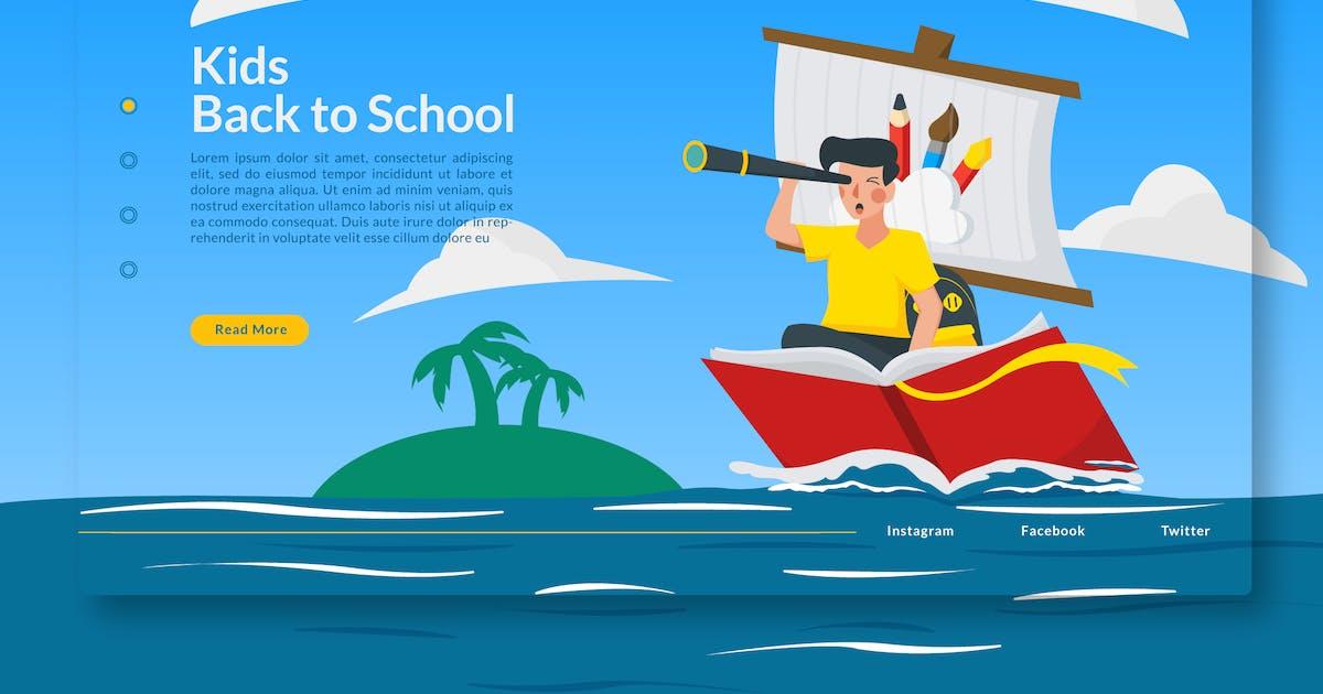 Download Kids Back to School  - Landing-Page GR by Rometheme