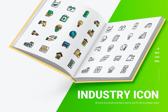 Industrie - Icons
