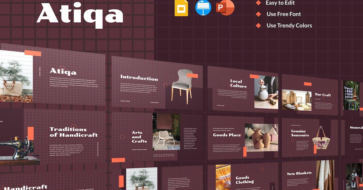 Download ATIQA - Aesthetic Presentation (DARK) by inipagi