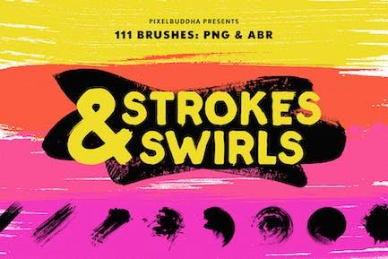 Kit de Pinceles Swirls & Strokes