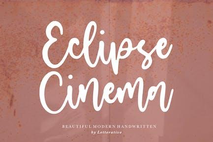 Police de script Cinéma Eclipse YH