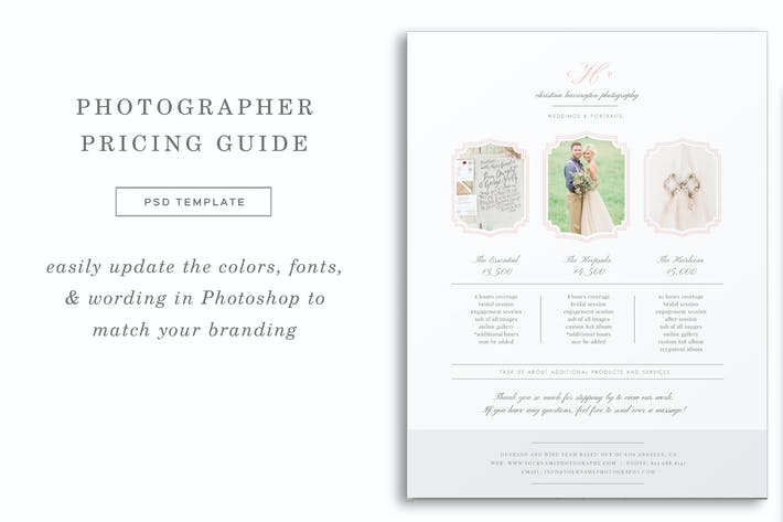 Thumbnail for Wedding Photographer Pricing Guide