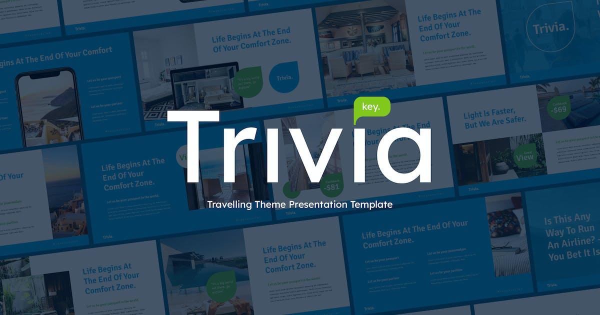 Download Trivia - Travel Theme Keynote Template by Slidehack