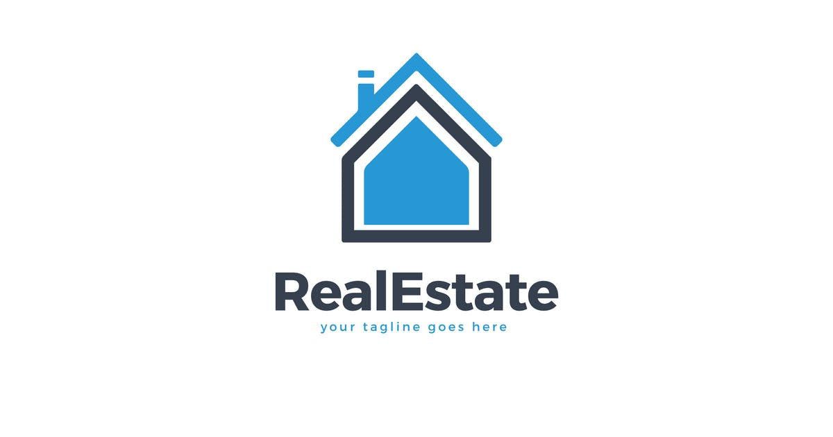 Download Read Estate House Logo Vector Template by Pixasquare