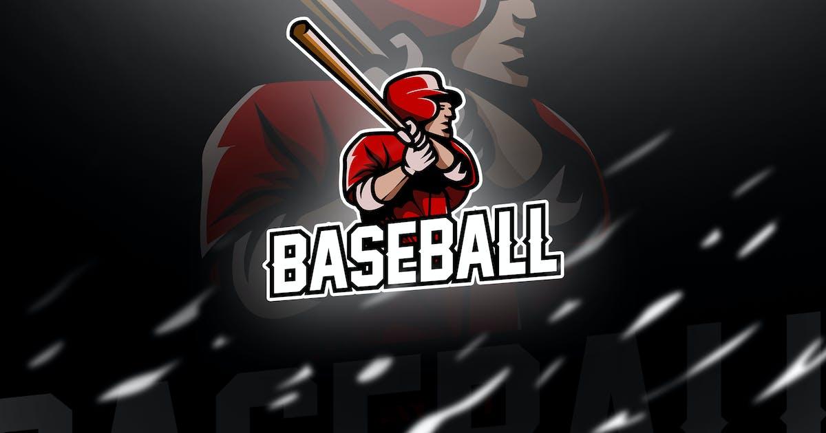 Download baseball - Mascot & Esport Logo by aqrstudio