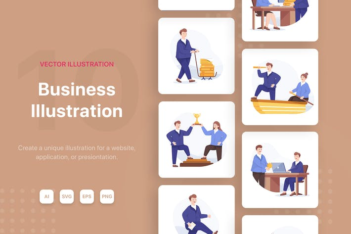 Thumbnail for Business Illustrations