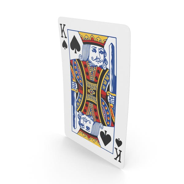 Playing Cards King of Spades