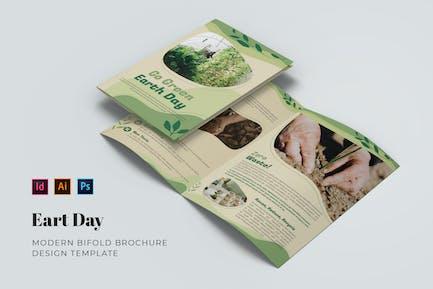 Earth Day Bifold Brochure