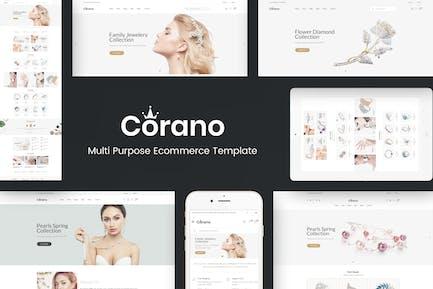 Corano - Jewellery OpenCart Theme