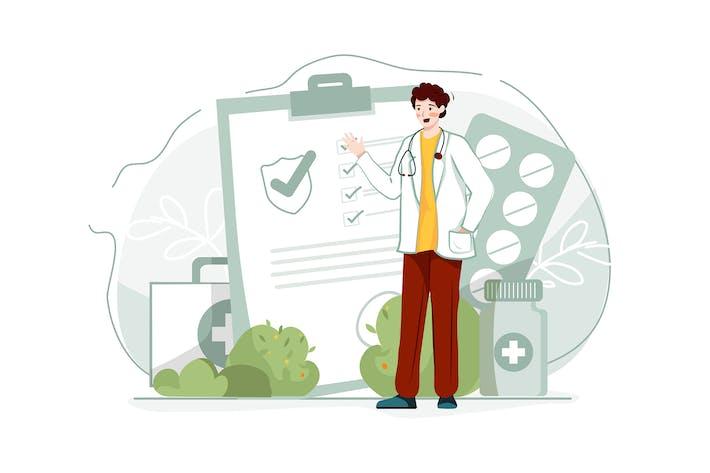 Illustration zur Krankenversicherung