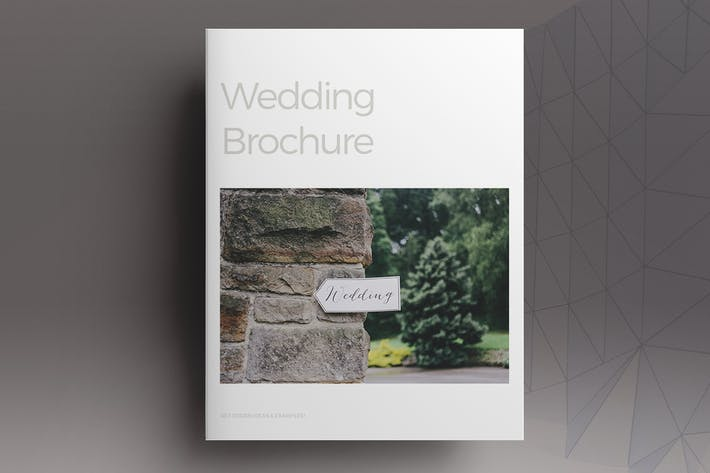 Thumbnail for Wedding Lifestyle Brochure Template