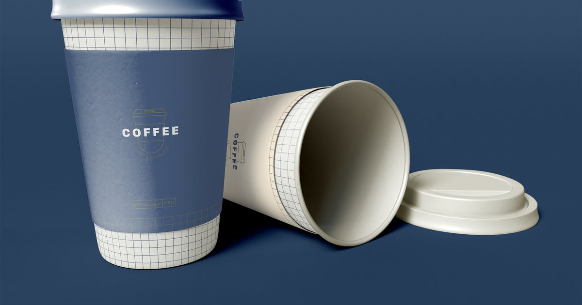 Download Take Away Coffee Cups Mockup by megostudio
