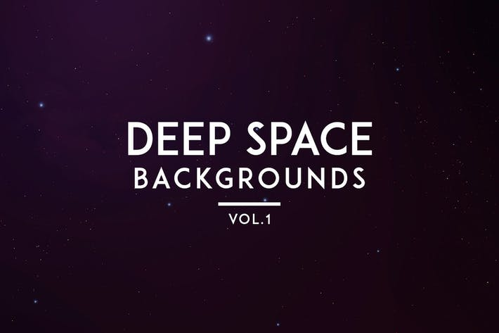 Cover Image For Deep Space Backgrounds Vol. 1