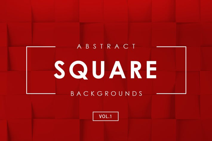 Cover Image For Square Abstract Backgrounds Vol.1