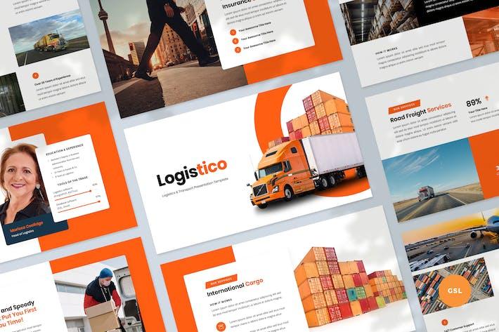 Logistics & Transport Presentation Slides Template
