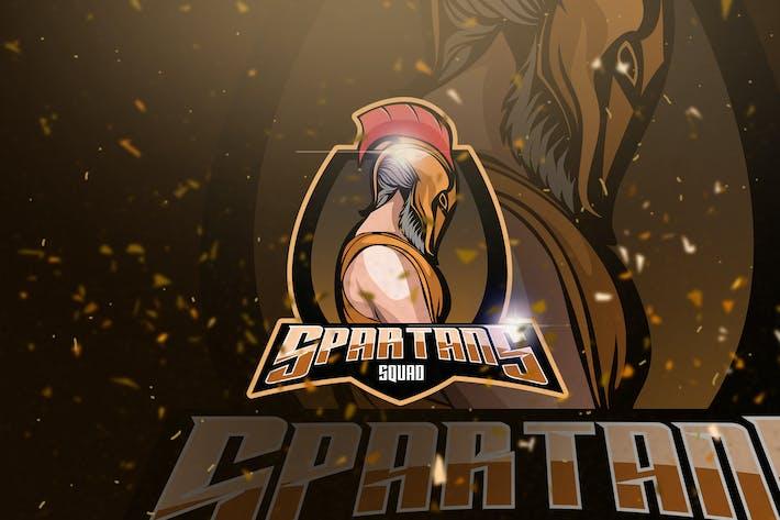 Thumbnail for Spartans - Mascot & Esport Logo
