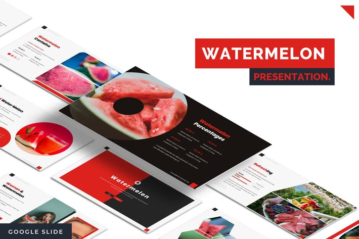 Thumbnail for Watermelon - Google Slide Template