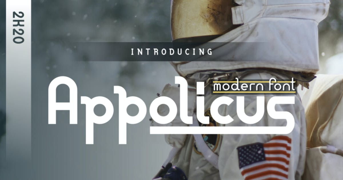Download Appolicus - Bold, Regular, Ultra - Modern Font by Macademia