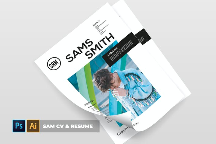 Cover Image For Sam | CV & Resume
