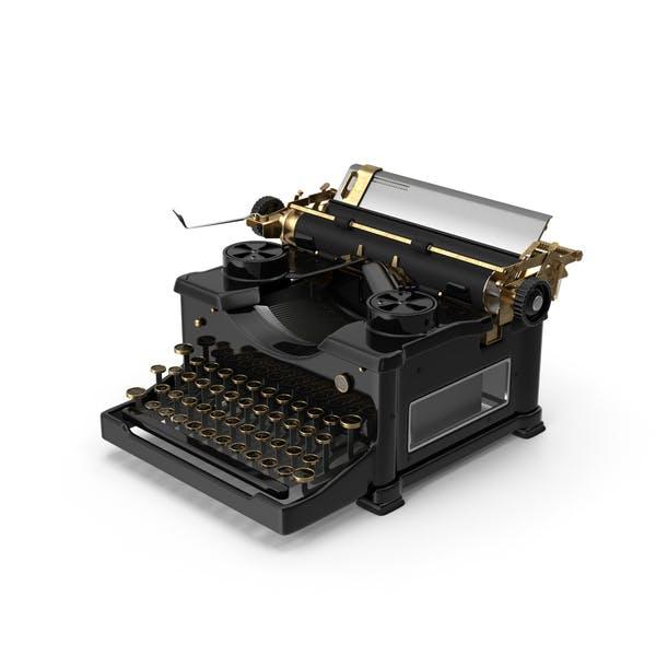 Cover Image for Vintage Typewriter